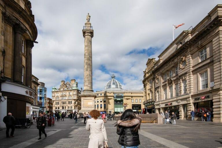 Newcastle walking tour
