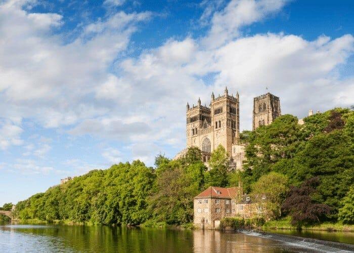 Durham walking tour riverside walk