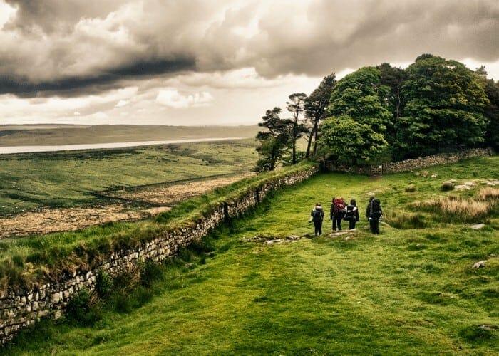 Hadrian's Wall tour; Roman Frontier