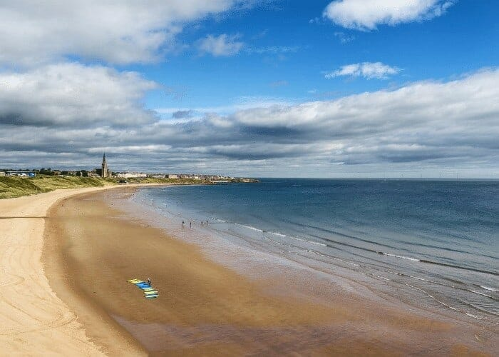North Tyneside coast