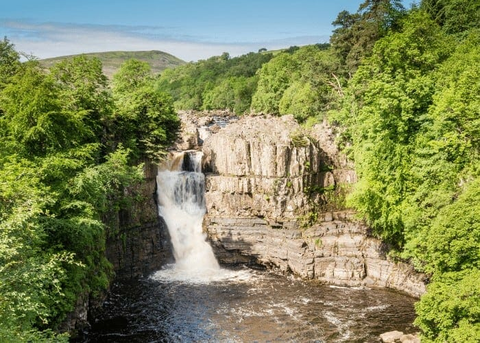 High Force Waterfall in Durham Dales