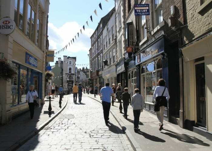 Saddler Street Durham Walking Tour