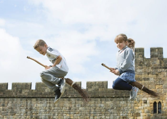 Broomstick Training Alnwick Castle