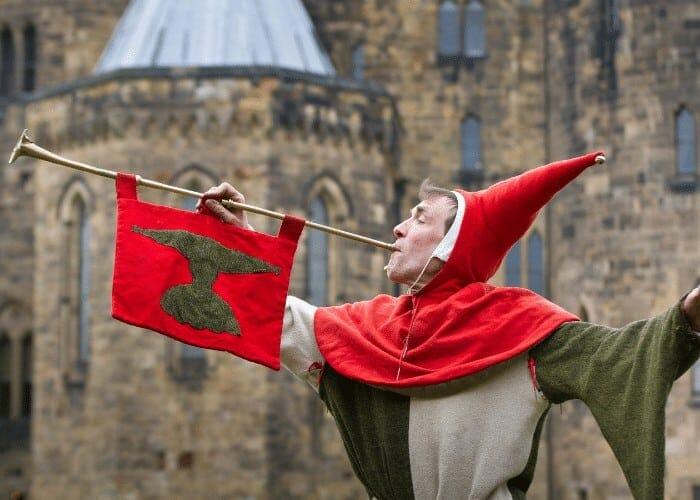 Jester Alnwick Castle Tour