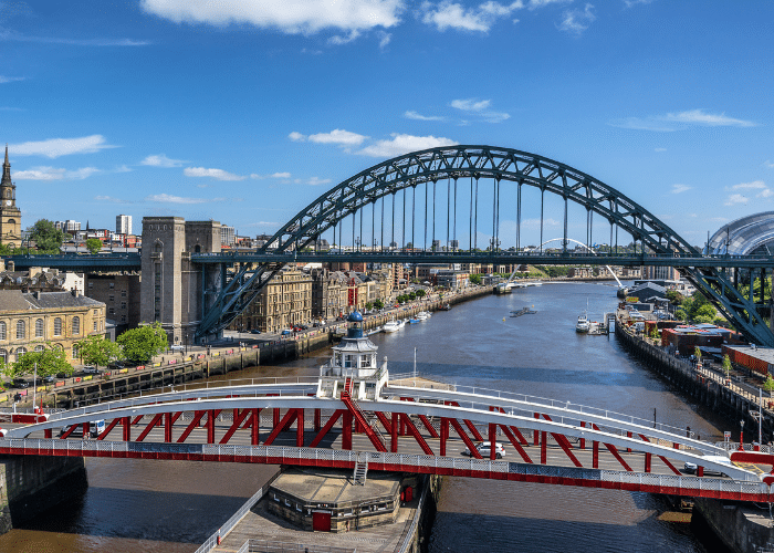 Swing Bridge Newcastle Tyneside Tour