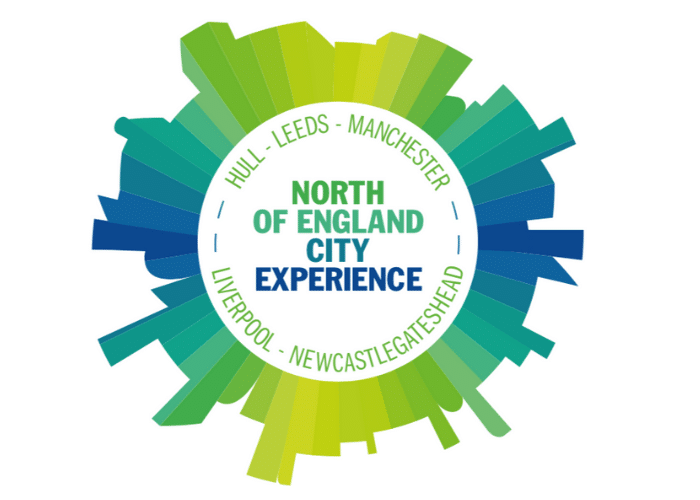 North of England City Experience logo