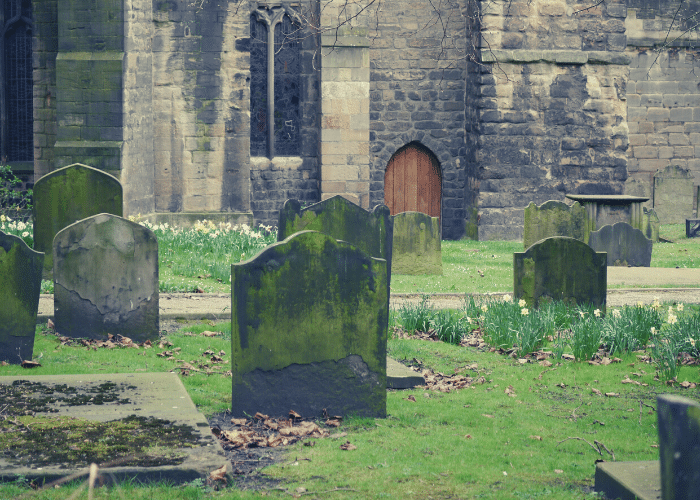 St. Andrews Churchyard Newcastle True Crime Tour